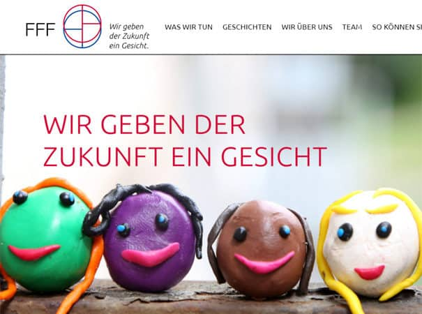 FFF e.V. Referenz, WordPress Webdesign