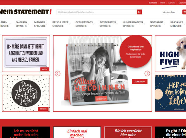 Milena Paralis Referenz WooCommerce Onlineshop Mein-Stetement