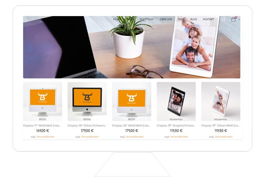 Milena Paralis Referenz Bulldesign: WooCommerce Onlineshop erstellen lassen vom WooCommerce Prommierer Freelancer